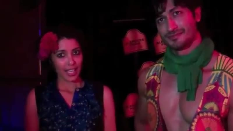 Exclusive with @VidyutJammwal and Nida Mahmood Blenders Pride Fashion Tour 2012,