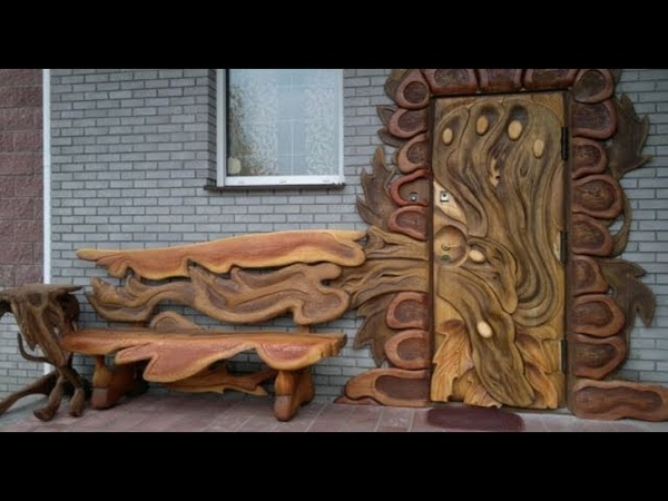 🔴 Wooden handmade furniture Wonderful chairs tables beds