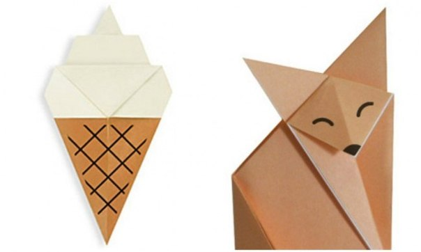 20 простых оригами, которые можно сделать с детьми: ↪ Идеально для летнего вечера.
