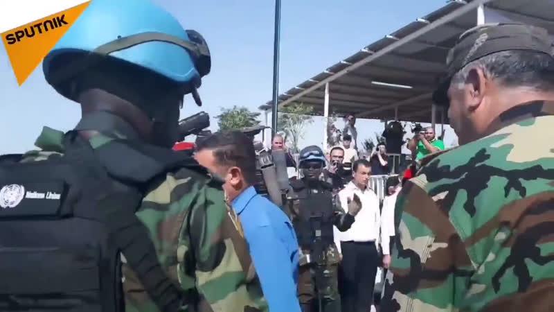 Голаны КПП Сирия - Израиль