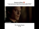 TVD Damon Salvatore and Elena Gilbert 4x23 I am not sorry that Im in love with you