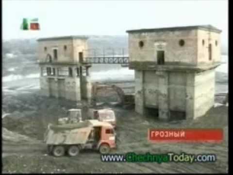 Грозненское море реконструкция