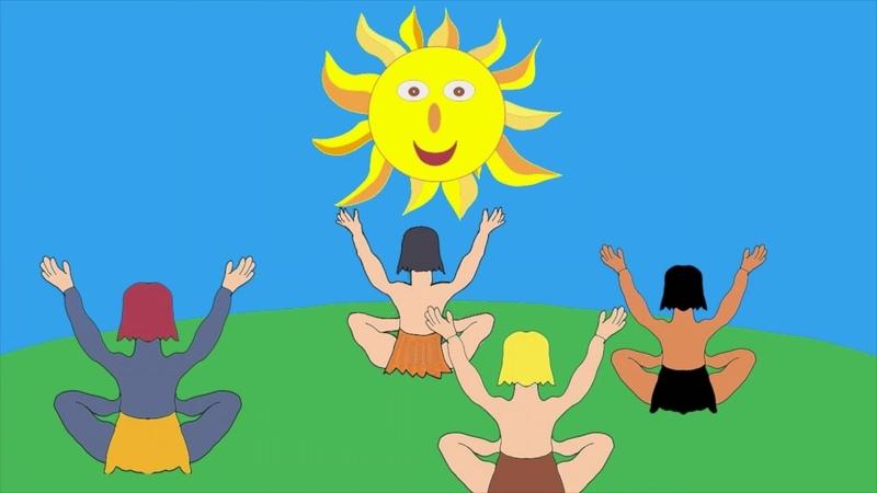 Conte pour enfants : La lune le Soleil et les Hommes