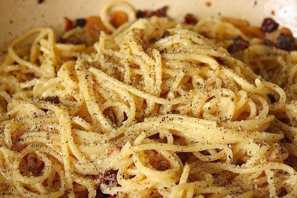 Спагетти а-ля карбонара