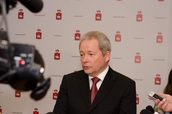 """Губернатор высказал мысль о том, что новый стадион для  """"Амкара """" и продвижение  """"Молота-Прикамье """" в КХЛ  """"как и в случае..."""