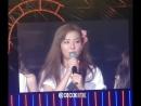 180805 Red Velvet - talk (Seulgi) @ REDMARE DAY2