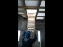 Установка чердачного люка лестницы