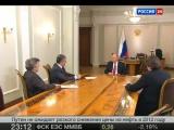 Интервью с  Владимир Путин, Ново-Огарево - канал Россия 1 - януари 2018 г
