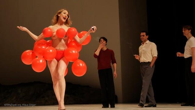 Impressionen Masurca Fogo Tanztheater Wuppertal Pina Bausch