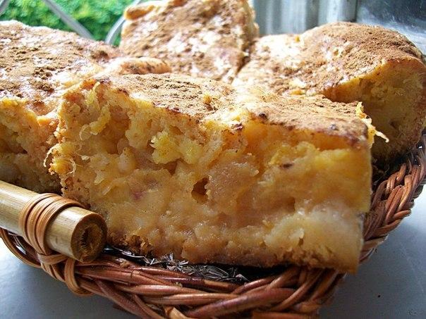Пудинг хлебный с апельсинами