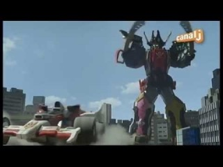 Power Rangers Super Megaforce - Extrait VF - Formation Megazord Légendaire RPM