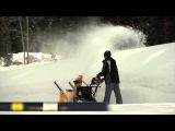 Трёхступенчатый снегоуборщик Cub Cadet в работе