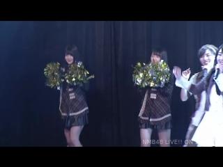 Kushiro Rina, Ijiri Anna, Jonishi Rei, Nakagawa Mion + BD - Manatsu no Christmas Rose @ 180527 NMB48 Stage BII4