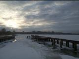 Утренняя зарядка #13. Ижевский пруд. Первая тренировка на пирсе