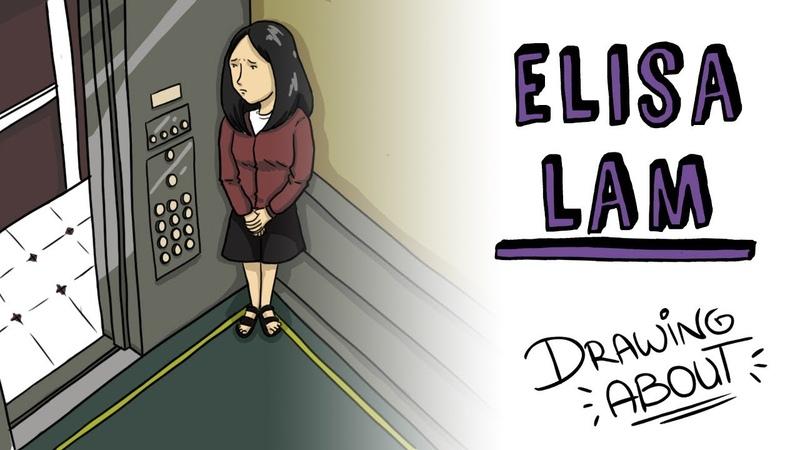 LA TERRIBLE Hª DE ELISA LAM | Draw My Life del Misterioso Caso del Ascensor del Hotel Cecil