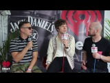 Klinger Chats with Cage the Elephant Backstage at Lollapalooza