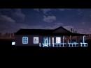 Визуализация RGB подсветки коттеджа ААА