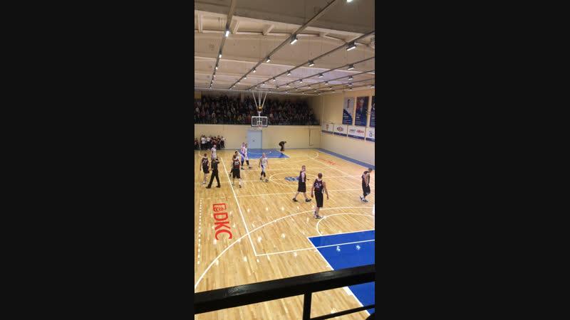 Матч открытие баскетбольной арены