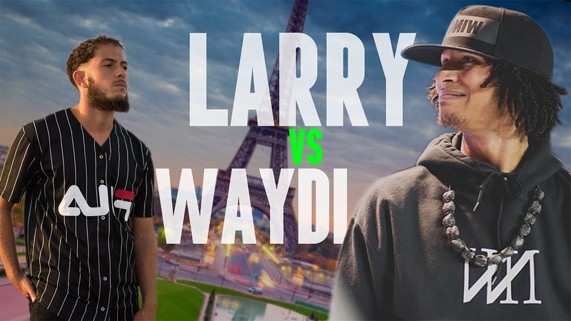LARRY (les twins) vs WAYDI | WHO IS BETTER? (E-battle) 2018