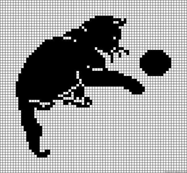 Кошка с клубком.