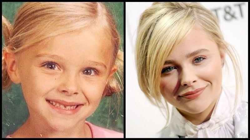 Хлоя Грейс Морец в детстве и сейчас Chloë Grace Moretz тогда и сейчас Как менялась Chloe до 2018