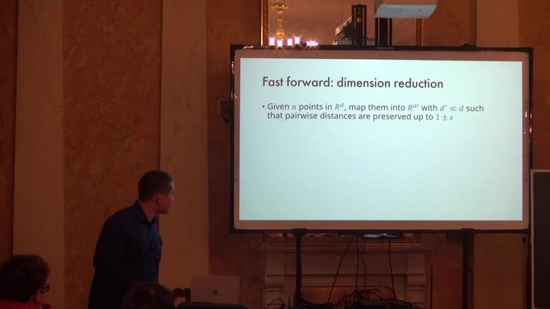 Lecture 4   Recent Advances in Algorithms   Ilya Razenshteyn