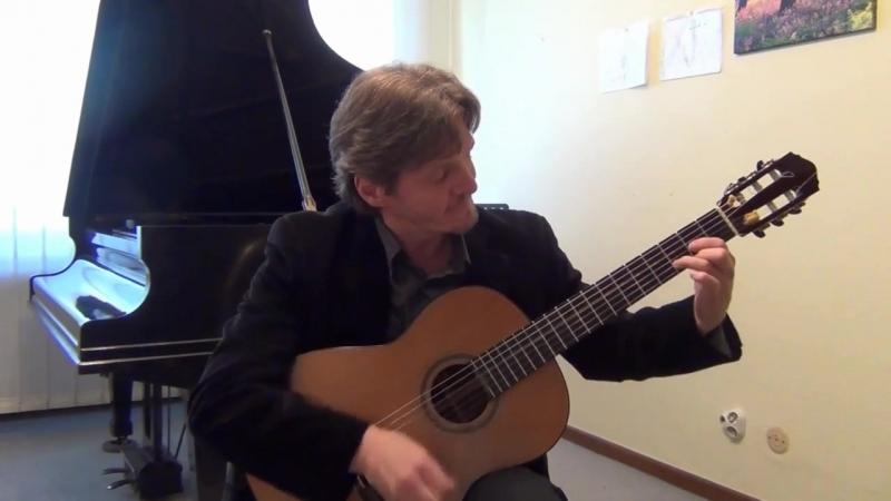 Исп. и аранж. Михаил Гольдорт. Tango «Espuma de Champagne» (Брызги шампанского) for guitar, Arr. by Michael Goldort