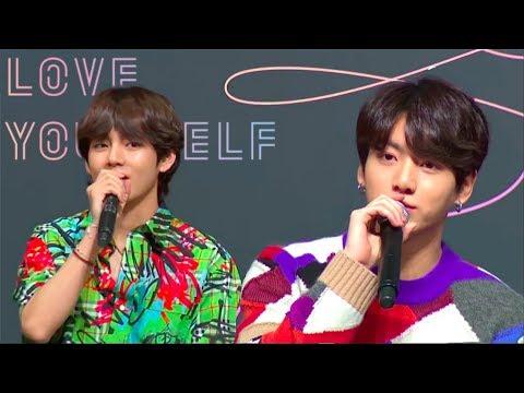 ENG FULL BTS 방탄소년단 'FAKE LOVE' Press Conference LOVE YOURSELF 轉 Tear