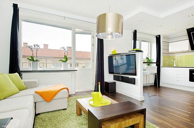 Квартира-студия 34 м в Вестеросе / Швеция - http://kvartirastudio.
