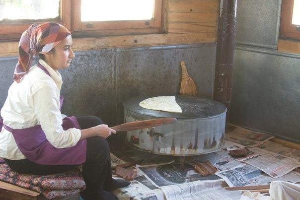 Изготовление лепешек