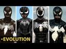 Evolution of the Spider Man 3 Venom Mod in Spider Man Games 2005 2014