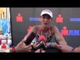 Post Race with Kimberly Schwabenbauer, 3rd Pro Woman, 2013 Ironman Texas