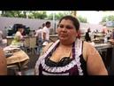 одесский рынок Привоз продавщица рыба