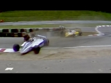 Nelson Piquets Bust-up with Eliseo Salazar _ 1982 German Grand Prix