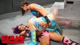 #video@rubyriottdaily Bayley obliterates Sasha Banks Raw, June 25, 2018