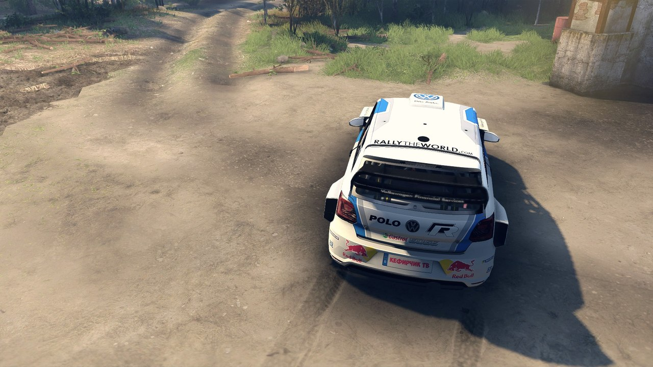 Volkswagen Polo WRC для Spintires - Скриншот 1