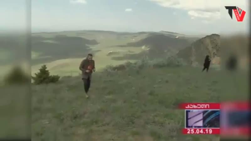 В Грузии азербайджанские пограничники перекрыли дорогу к пустынному монастырю в Давид-Гареджи
