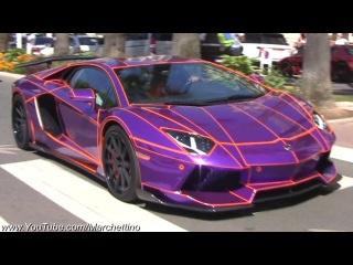 Supercars in Cannes .. August 2013