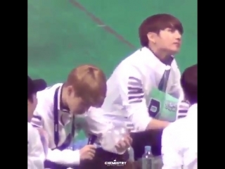 Remember when jungkook was so done with jimin's shit when he broke the army bomb