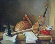 """Схема вышивки  """"Музыкальные инструменты """": схема."""