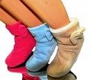 """14. Сапожки домашние уютные велюровые  """"Hobby Socks 6995 """" ."""