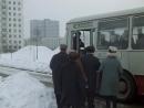 Удальцова ул. д.3 с13. 1971. Трошкин садится в автобус. Джентльмены удачи