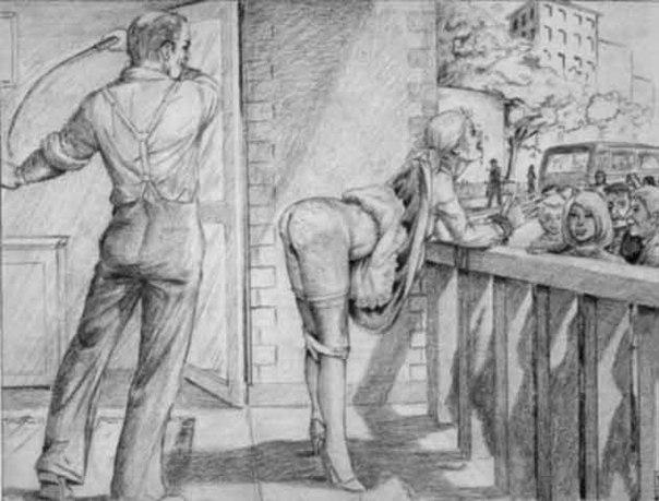Посмотреть наказание розгой ремнем кнутом