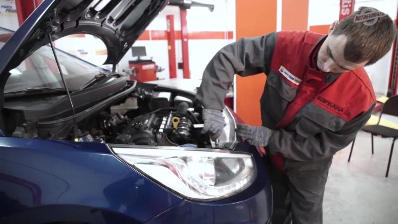 Замена вентилятора и радиатора охлаждения на Hyundai Solaris
