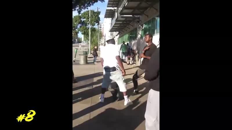 Уличные разборки MMA и UFC Разборки бои драки на улице