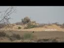 Хусит из РПГ обстрелял позицию хадистов в районе Миди.