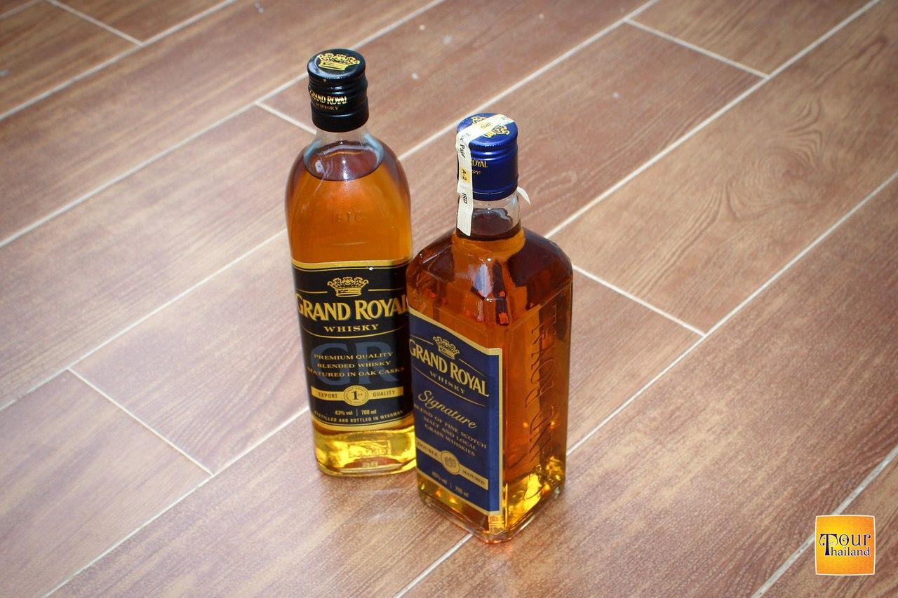 Алкоголь из Бирмы