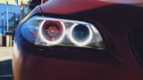 BMW 5 F10   оклейка кузова в бордовый матовый сатин   2 ВЫПУСК