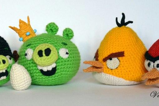 Angry Birds - Злые птички .