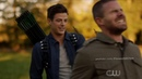 The Flash 5x09 - Barry Hits Oliver with an Arrow HD Elseworlds Crossover